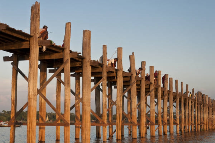 Ubein-Bridge-Mandalay-Myanmar